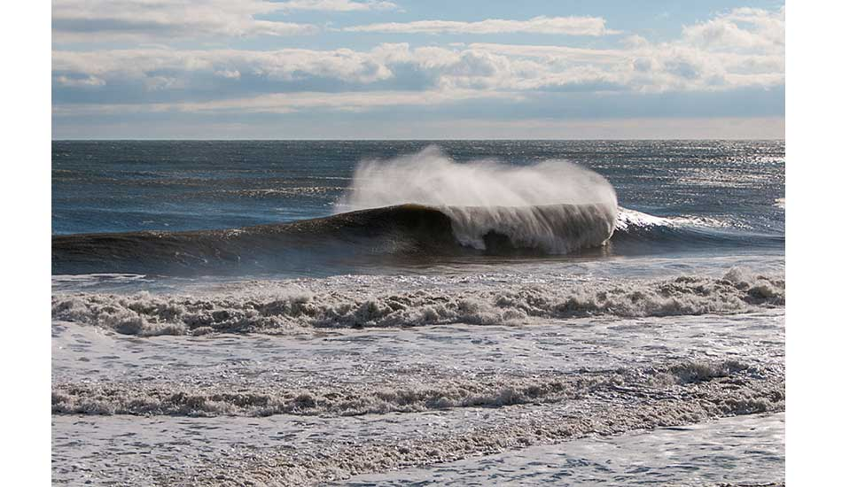 """Bay Head, New Jersey. Doomsday swell. Photo: <a href= \""""http://joanneosh.zenfolio.com/\"""" target=_blank>Joanne O\'Shaughnessy</a>"""
