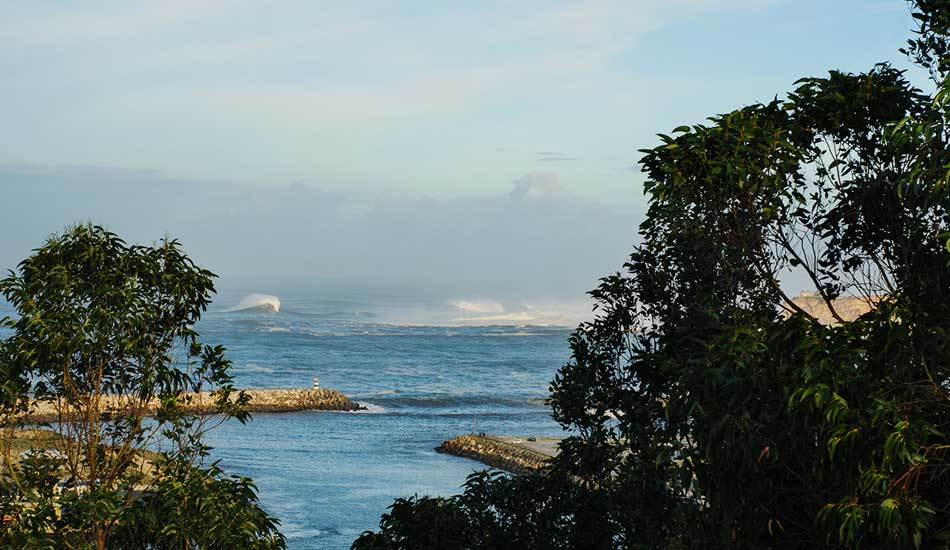 """An early morning check revealed a very consistent swell. Photo: <a href= \""""http://joaobracourt.com/\"""" target=_blank>Joao Bracourt.</a>"""