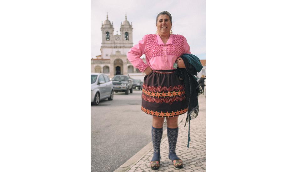 "Nazaré woman. Photo: <a href= \""http://joaobracourt.com/\"" target=_blank>Joao Bracourt.</a>"