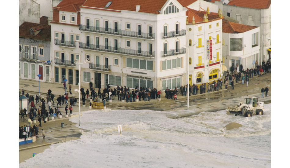 "High tide caused mayhem downtown. Photo: <a href= \""http://joaobracourt.com/\"" target=_blank>Joao Bracourt.</a>"