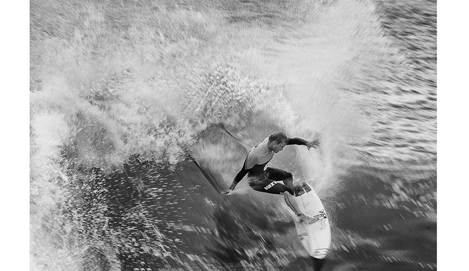 "Marlon Lipke\'s power surfing. Photo: <a href= \""http://joaobracourt.com/\"" target=_blank>Joao Bracourt.</a>"