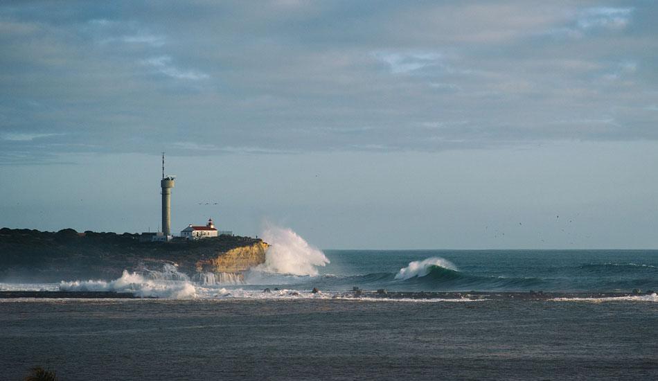 "The east jetty got pretty damaged. Photo: <a href= \""http://joaobracourt.com/\"" target=_blank>Joao Bracourt.</a>"