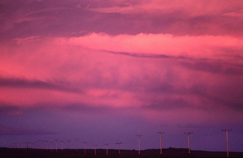 "Thirty three poles. Iceland. Photo: <a href=\""http://www.joecurren.com\"" target=_blank>Joe Curren</a>"