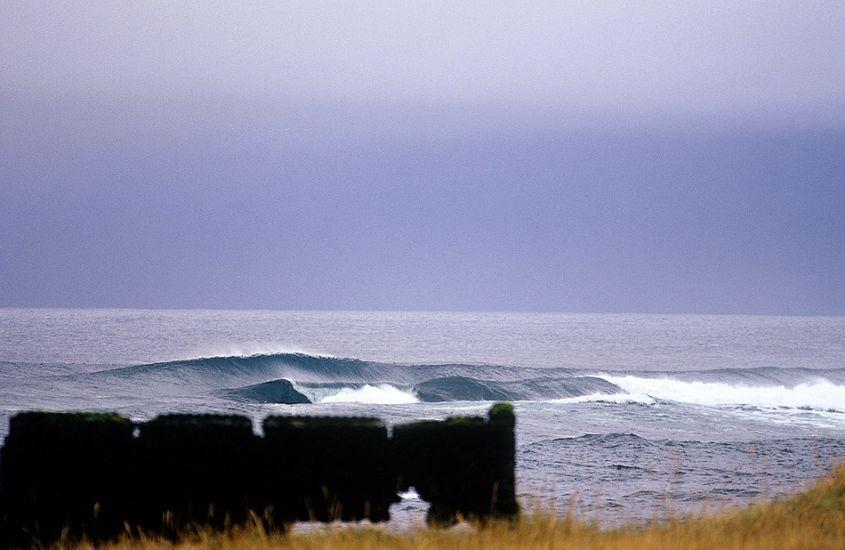 """Reef break. Iceland. Photo: <a href=\""""http://www.joecurren.com\"""" target=_blank>Joe Curren</a>"""