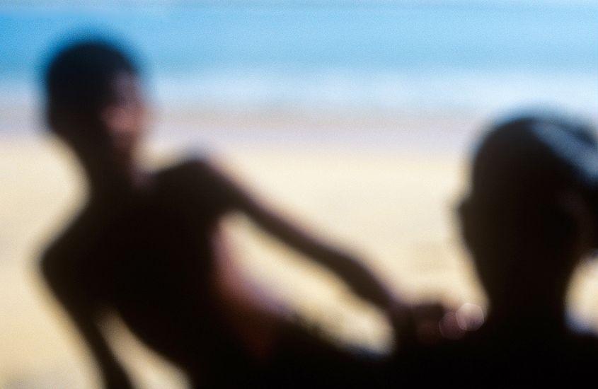 "Two boys. Sri Lanka. Photo: <a href=\""http://www.joecurren.com\"" target=_blank>Joe Curren</a>"