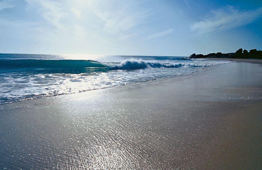 "Sand Point. Sri Lanka. Photo: <a href=\""http://www.joecurren.com\"" target=_blank>Joe Curren</a>"