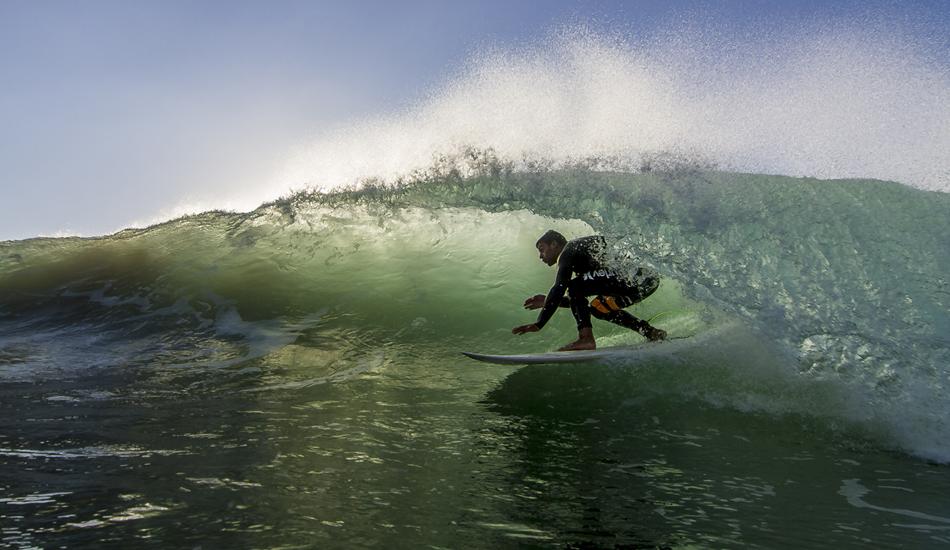 "Nicolas Giacomucci, a great surfer sailing through a great tube. Photo: <a href=\""http://www.jorgeibáñez.com\""> Jorge Ibáñez</a>"