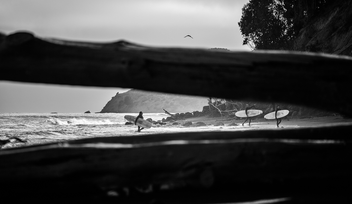 Bolinas is a small beautiful town north of San Francisco. It\'s a perfect place for longboarder.