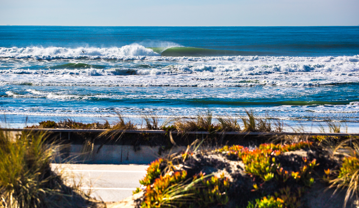 After being sloppy and windy during several months of the year, Ocean Beach becomes a world-class beach break in the fall.