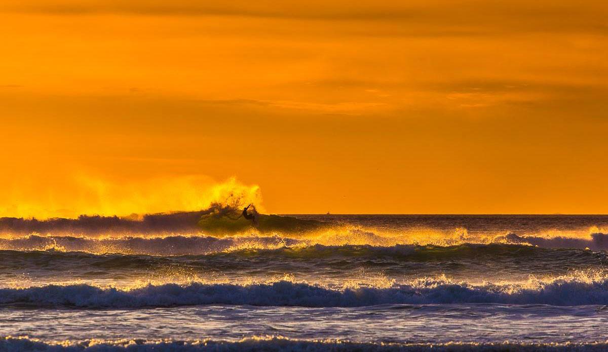 Ocean Beach sunset.