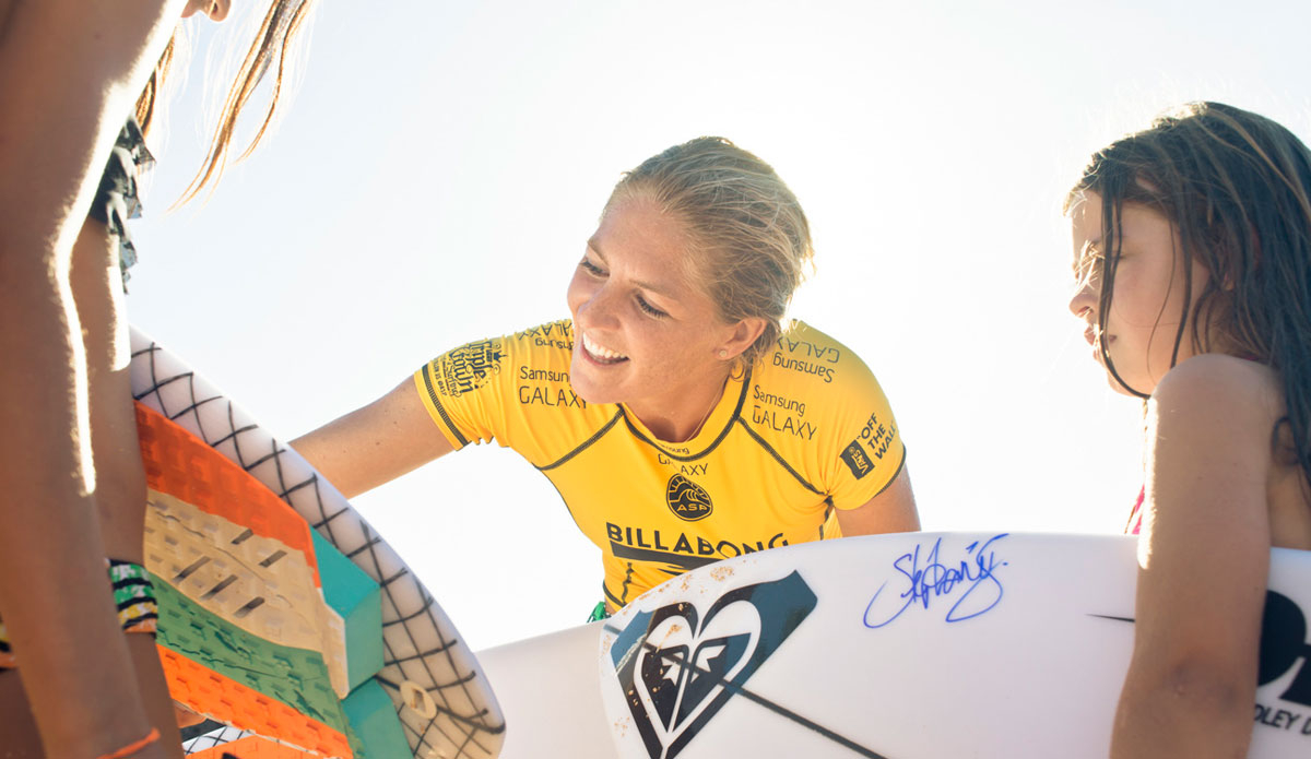 """Steph Gilmore, the 6-time World Champion. Photo: <a href=\""""http://instagram.com/justinjayphoto\""""> Justin Jay</a>"""