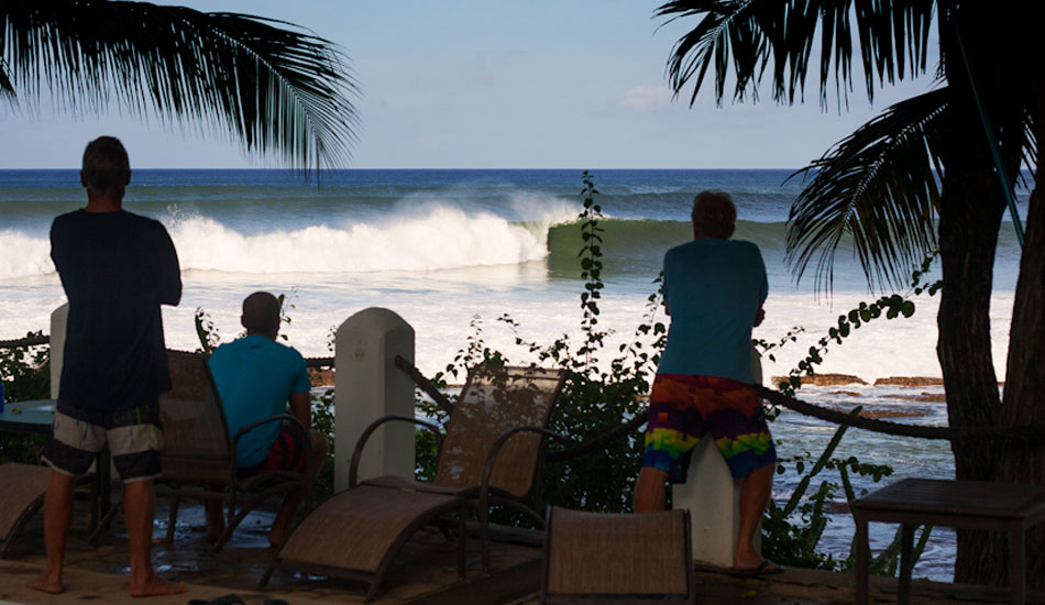 """Surf guide Tom, far left, \""""this going to work for you guys?\"""""""