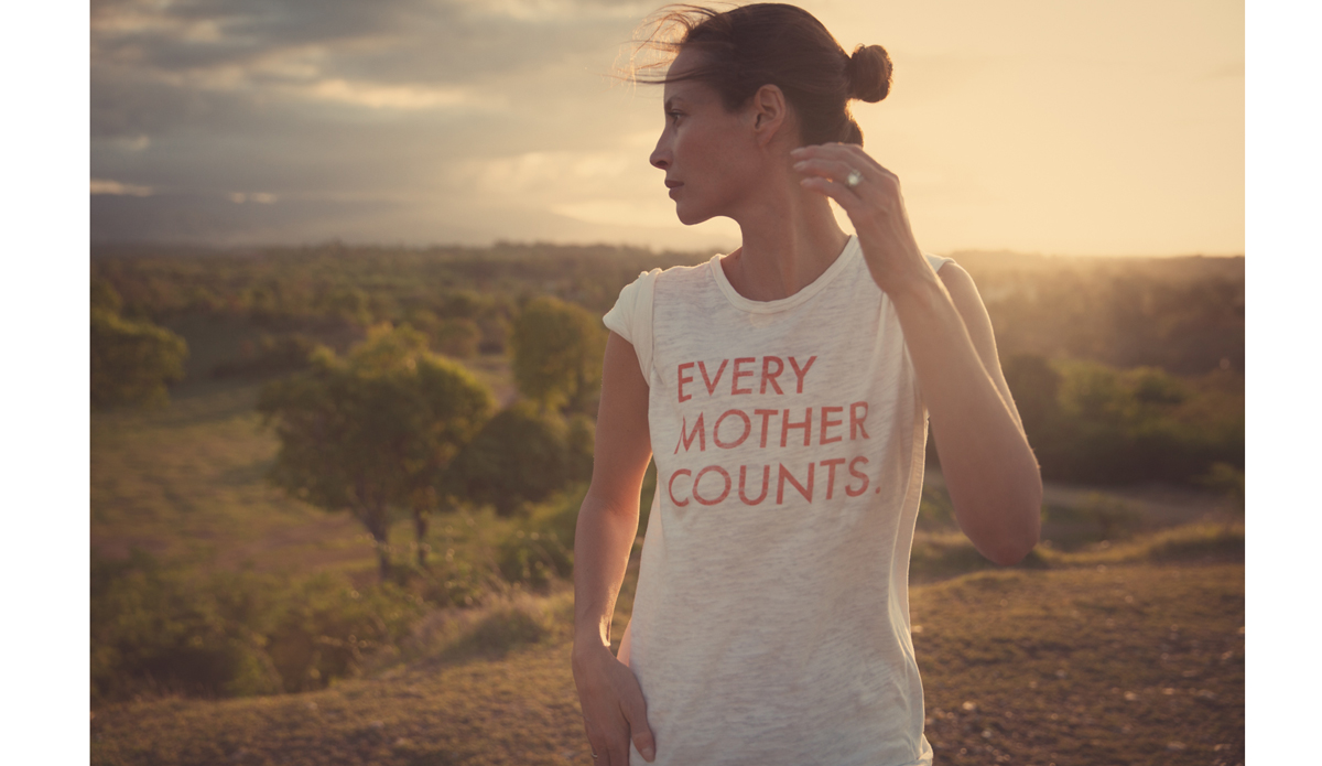 "<a href=""http://everymothercounts.org/\"">Every Mother Counts</a> founder, Christy Turlington. Photo: <a href=\""http://instagram.com/kassiameador\"">Kassia Meador</a>"