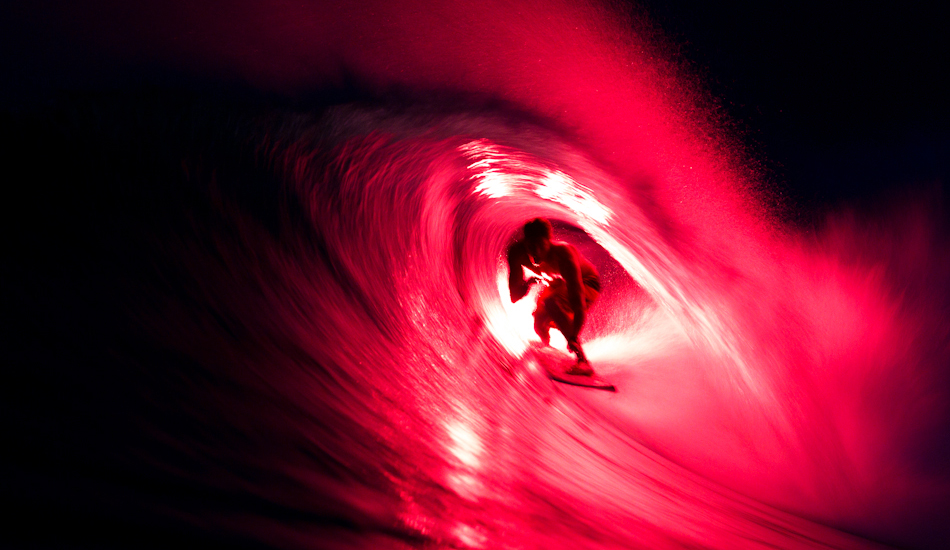 "Bruce Irons, in the dark, flare attached, no Photoshop needed. Image: <a href=""http://www.jrkenworthy.com/\"" target=\""_blank\"">Kenworthy</a>"