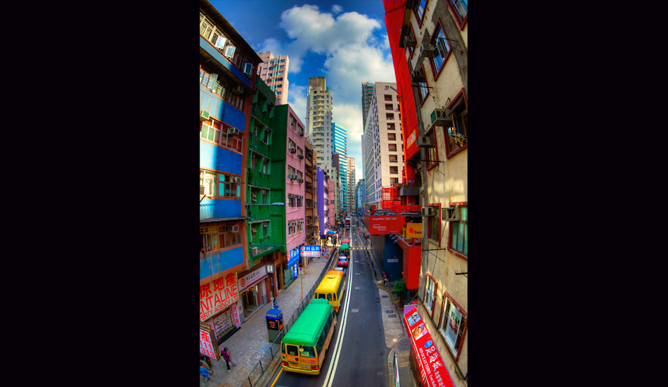 """Wandering Hong Kong while en route to perfect waves. Image: <a href=\""""http://www.jrkenworthy.com/\"""" target=\""""_blank\"""">Kenworthy</a>"""