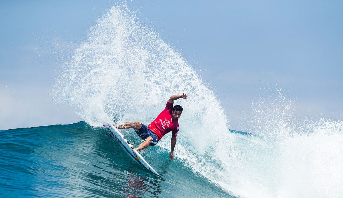 Michel Bourez. Photo: WSL/Cestari