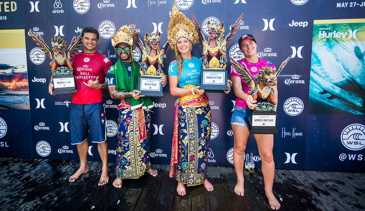 Finalists. Photo: WSL/Cestari