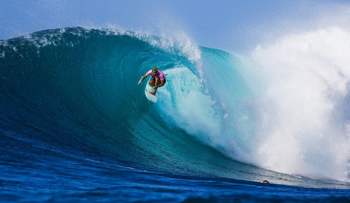 "Steph Gilmore, high and tight. Photo: <a href=\""http://www.kirstinscholtz.com/\"">Kirstin Scholtz</a>"