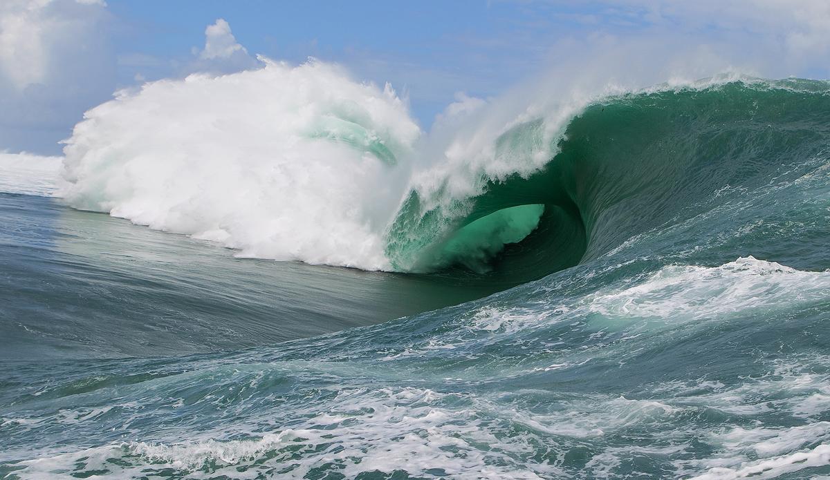 "The backless Tahitian slab. Photo: <a href=\""http://www.kirstinscholtz.com/\"">Kirstin Scholtz</a>"