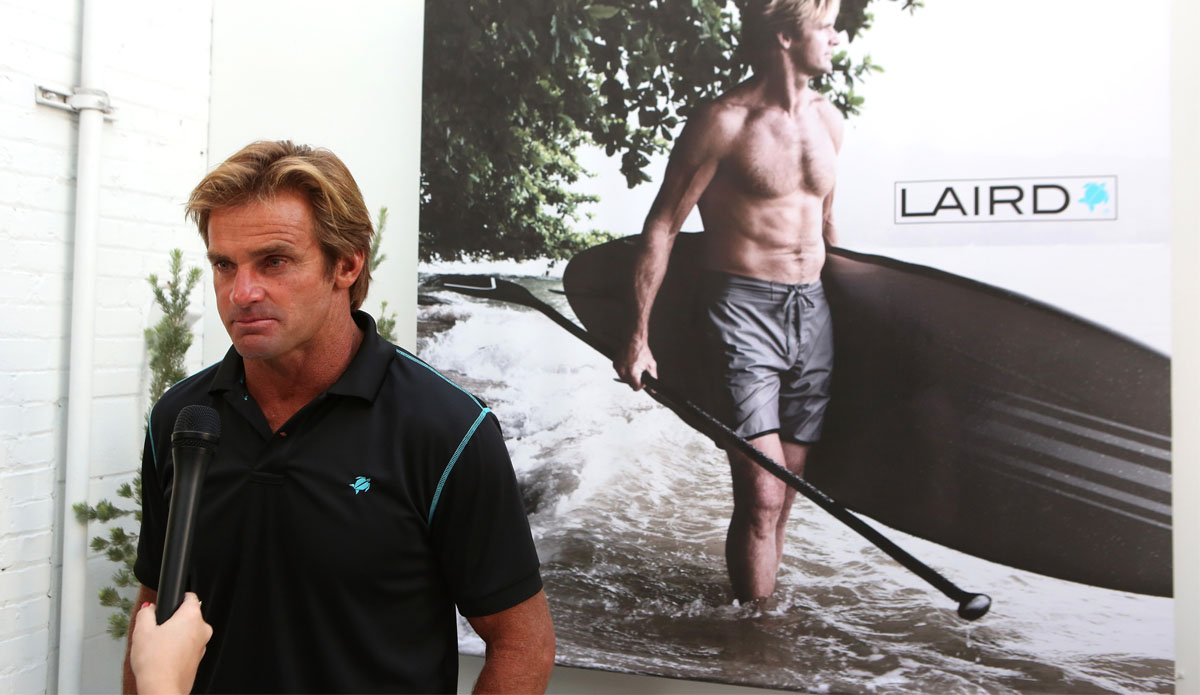 Laird Apparel is designed for people who lead similar, outdoorsy lifestyles to Laird himself. (Photo by Ari Perilstein/Getty Images for Laird Apparel LLC)