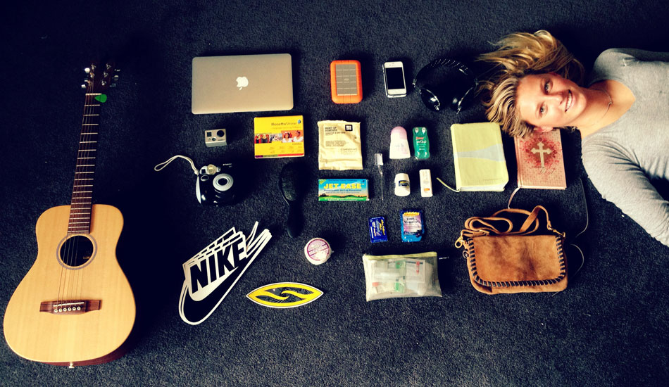 "My travel essentials. Photo: <a href=\""http://www.liebervision.com/\"" target=_blank>Aaron Lieber</a>"