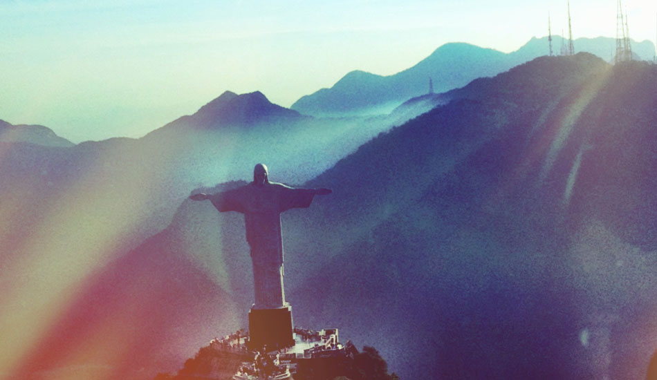 Brazil again. We were fortunate enough to get the chance to go on a helicopter ride in Brazil and see the Christ. It was and is a moment I will never forget.
