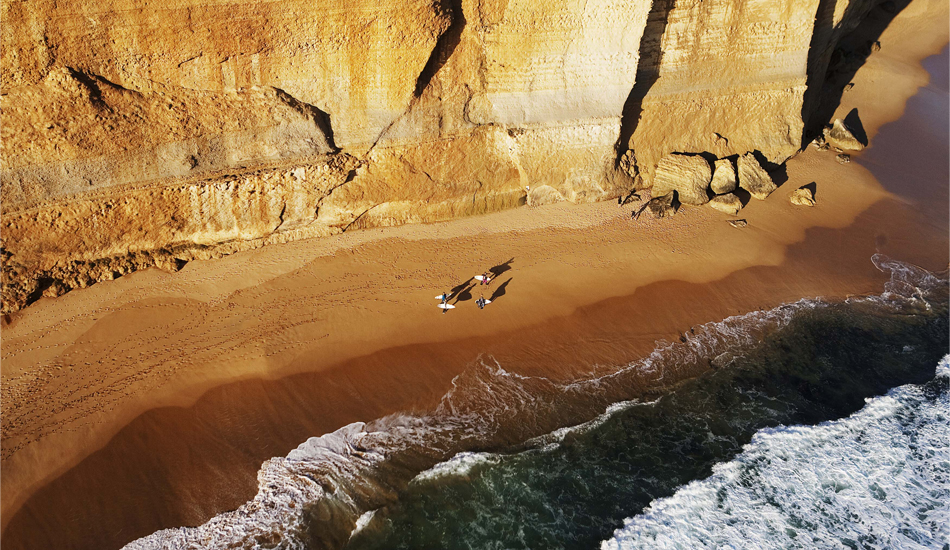 "AERIAL VIEW of the 12 Apostles, along the Great Ocean Road, Australia, 2011. Photo: <a href=""http://www.luciagriggi.com\"" target=\""_blank\"">Lucia Griggi</a>"