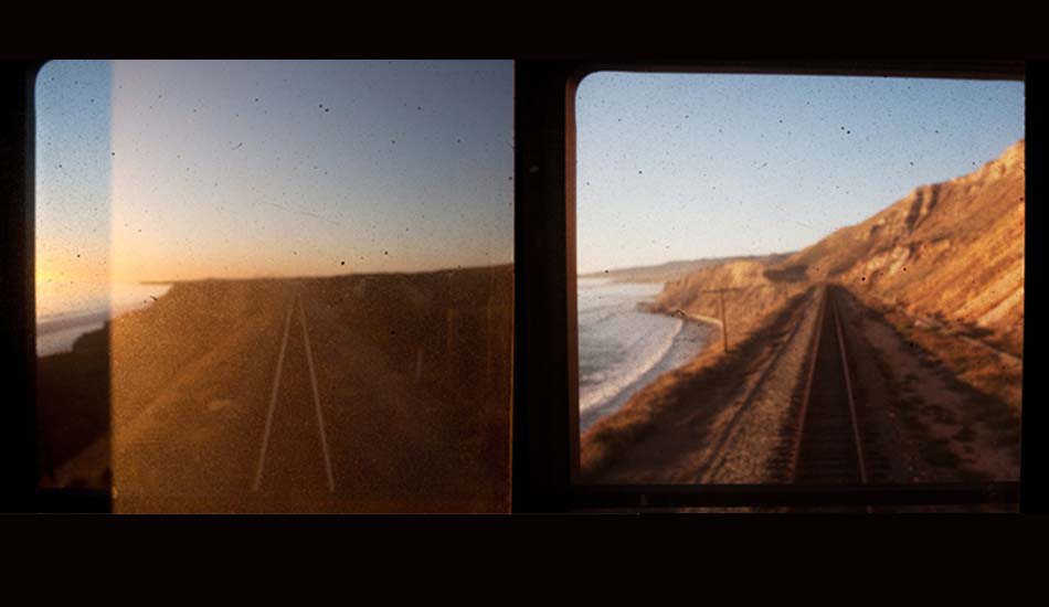 "THE RANCH by train, California, 2009. Photo: <a href=""http://www.luciagriggi.com\"" target=\""_blank\"">Lucia Griggi</a>"