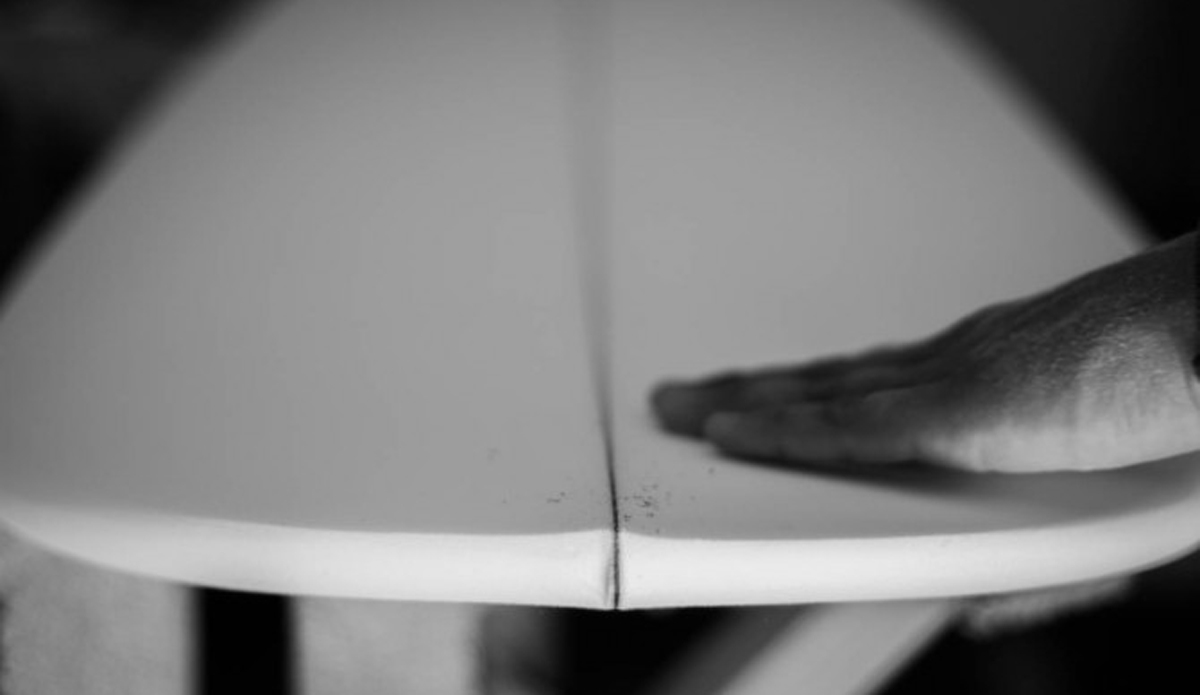 Incredible precision must be present when shaping a board.
