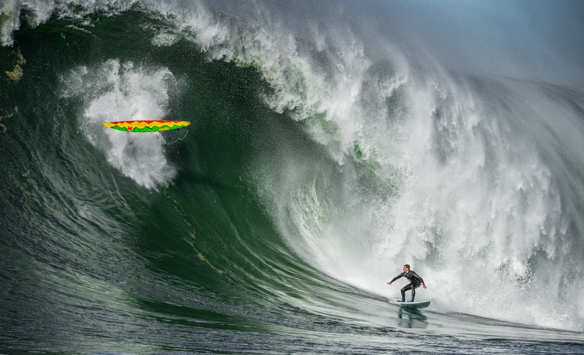 Ian Walsh, focusing on the lip (and an errant surfboard). Photo: Euan Rannachan