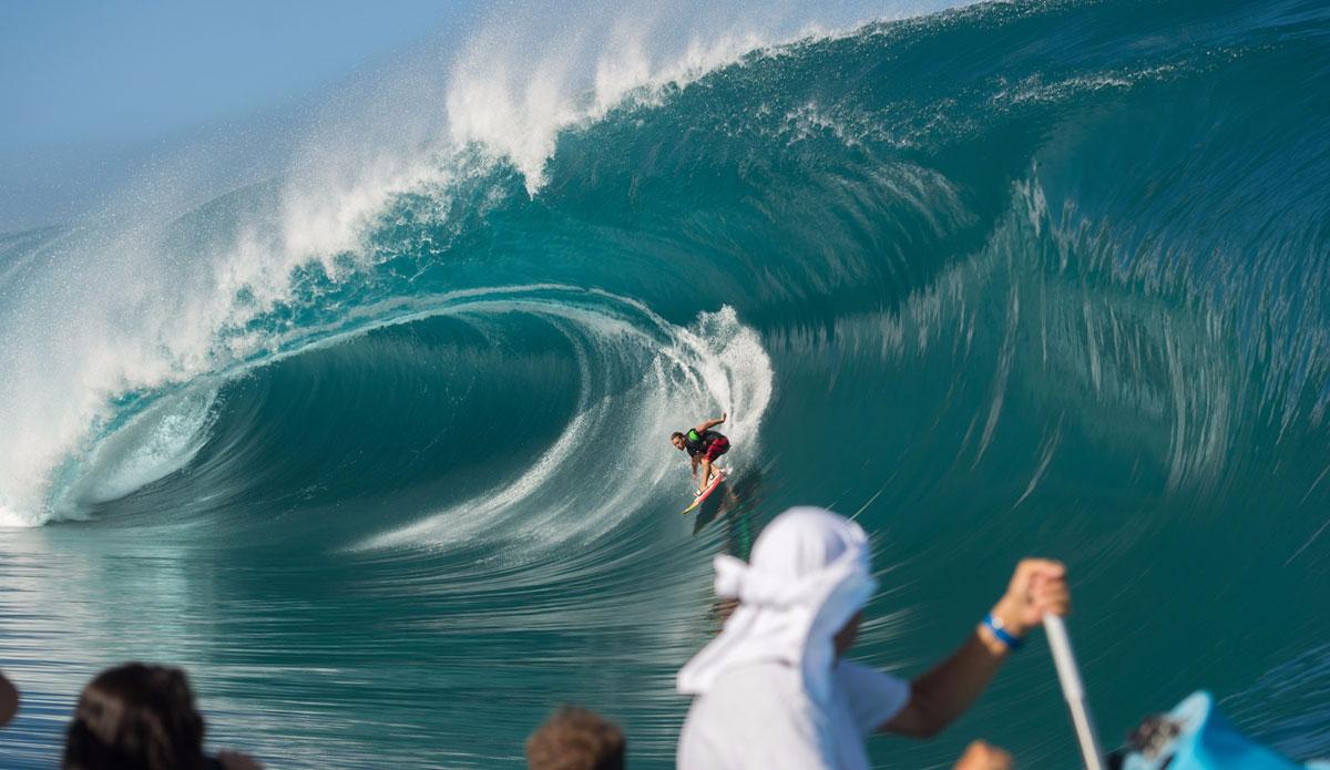"""Nicolo Porcella doing his best Millenium wave impression. Photo: <a href=\""""http://www.timmckennaphoto.com/\"""">Tim McKenna</a>"""