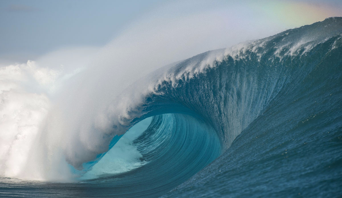"Teahupoo is just amazing. Photo: <a href=\""http://www.timmckennaphoto.com/\"">Tim McKenna</a>"