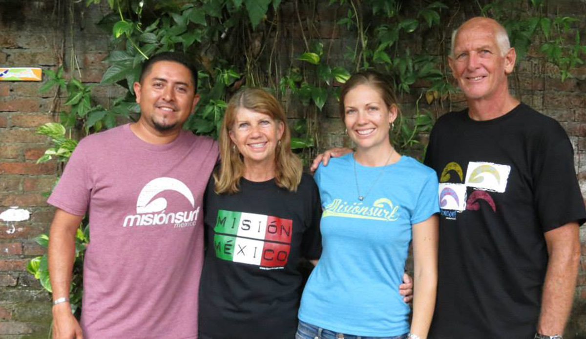Misión México founders Alan and Pam Skuse with daughter Brooke and son-in-law Paco Chavez.