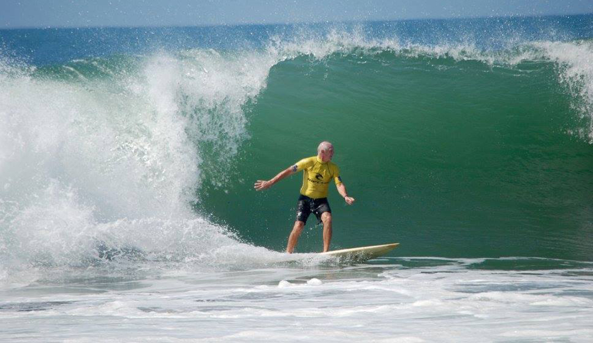 Do you think you will still be charging like this when you are 64? Surfing the real fountain of youth perhaps?  Photos by Pam Skuse.