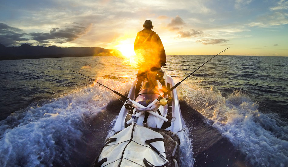"I enjoy spending the summer fishing from my Jet Ski. I mounted a Gripstick Pro mount on the sled hooked up to the GoPro Hero 3+. I am heading back to the harbor near my house after a wonderful afternoon sojourn. Photo: <a href=""http://www.mikecoots.com\"">Mike Coots</a>"