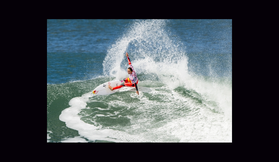 Carissa carved Bells\' buttery walls as she took home her second win of the year. Image: ASP/Robertson