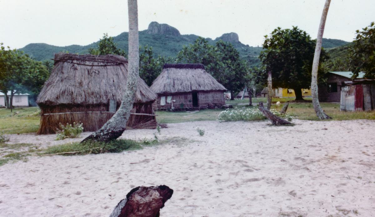 Village somewhere in the Yassawa\'s, Fiji. Photo: John Ritter