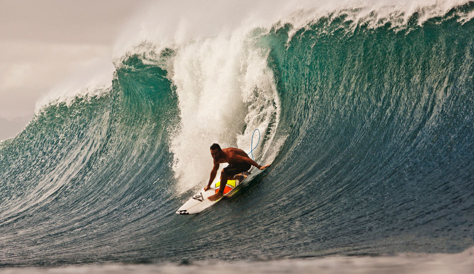 """Joel Parkison preparing for a sweet few moments at Pipe. Such a great surfer with a lot of natural style and flow. This wave looks pretty cool how it\'s all about to unfold. Photo: <a href=\""""http://www.natesmithphoto.com/\"""" target=\""""_blank\"""" title=\""""Nate Smith Surf Photos\"""">Nate Smith</a>"""