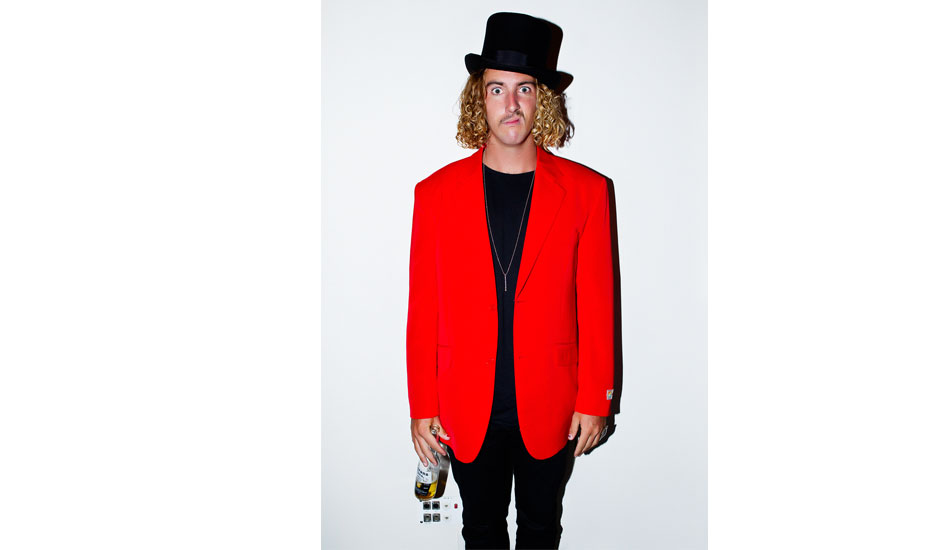 "1; Australian Shredder and larrikin Matt Wilkinson seen here at the ASP Banquet on the Gold Coast earlier this year. A funny bloke who loves to dress up in Quirky outfits. Photo: <a href=""http://www.natesmithphoto.com/\"" target=\""_blank\"" title=\""Nate Smith Surf Photos\"">Nate Smith</a>"