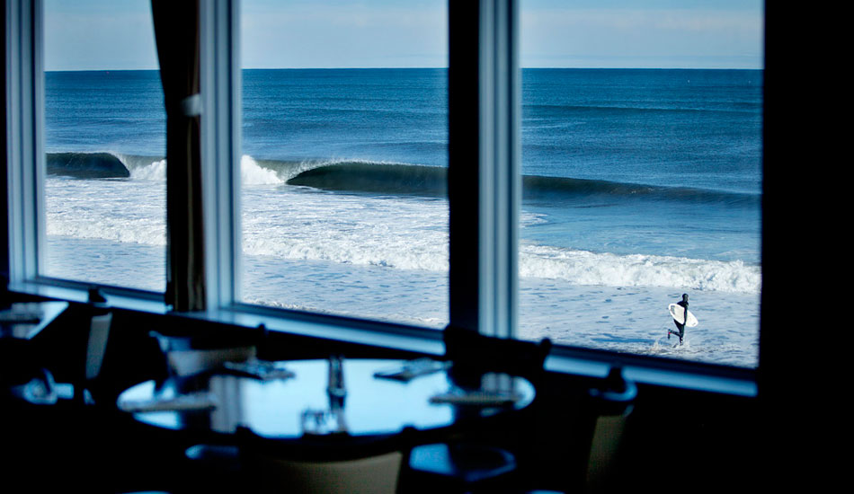 """Not a bad view over some clam chowder. Photo: <a href=\""""http://www.briannevins.com/\"""" target=_blank>Brian Nevins</a>"""