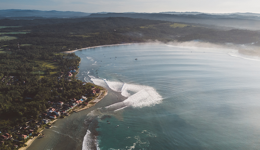 Strangely, after all these years, very little of Nias has been explored. Lagundri Bay stops most surfers cold. New discoveries await within her myriad bays.
