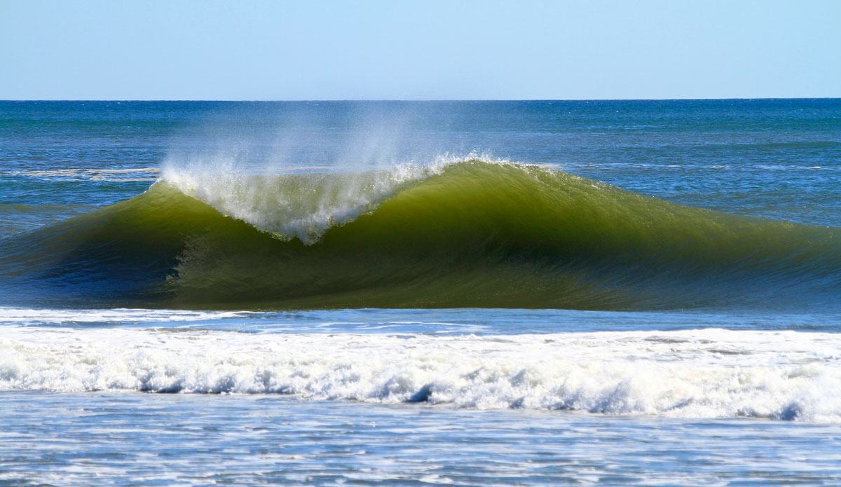 Green a-frames. That\'s what Nicaragua\'s about.
