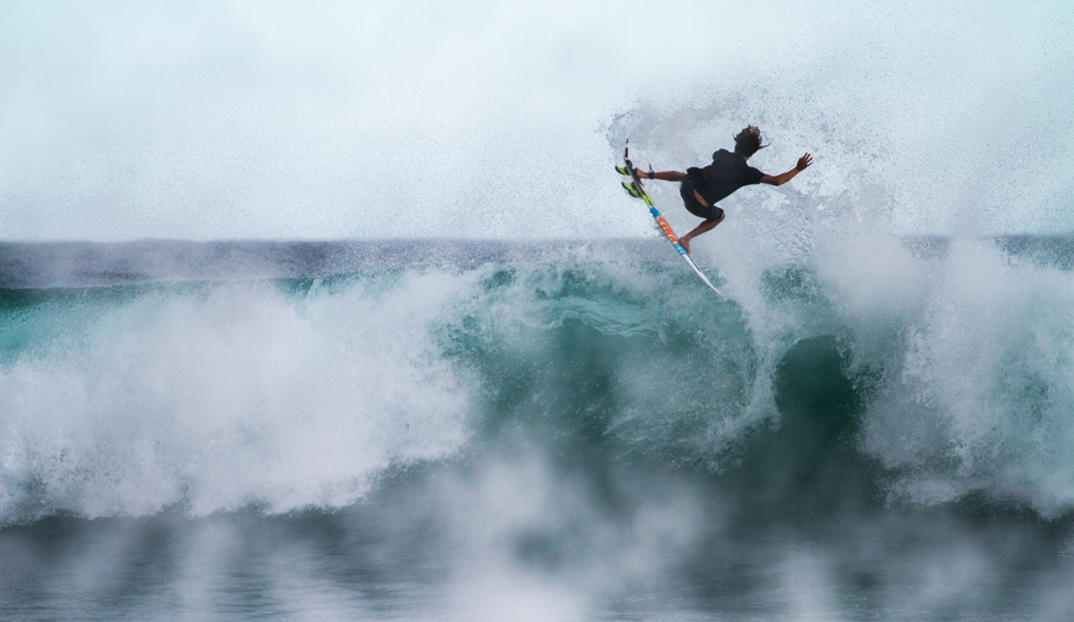 """Matt Meola adding some color to this cloudy overcast day. Photo: <a href=\""""http://www.nickricca.com\"""">Nicks Ricca</a>"""