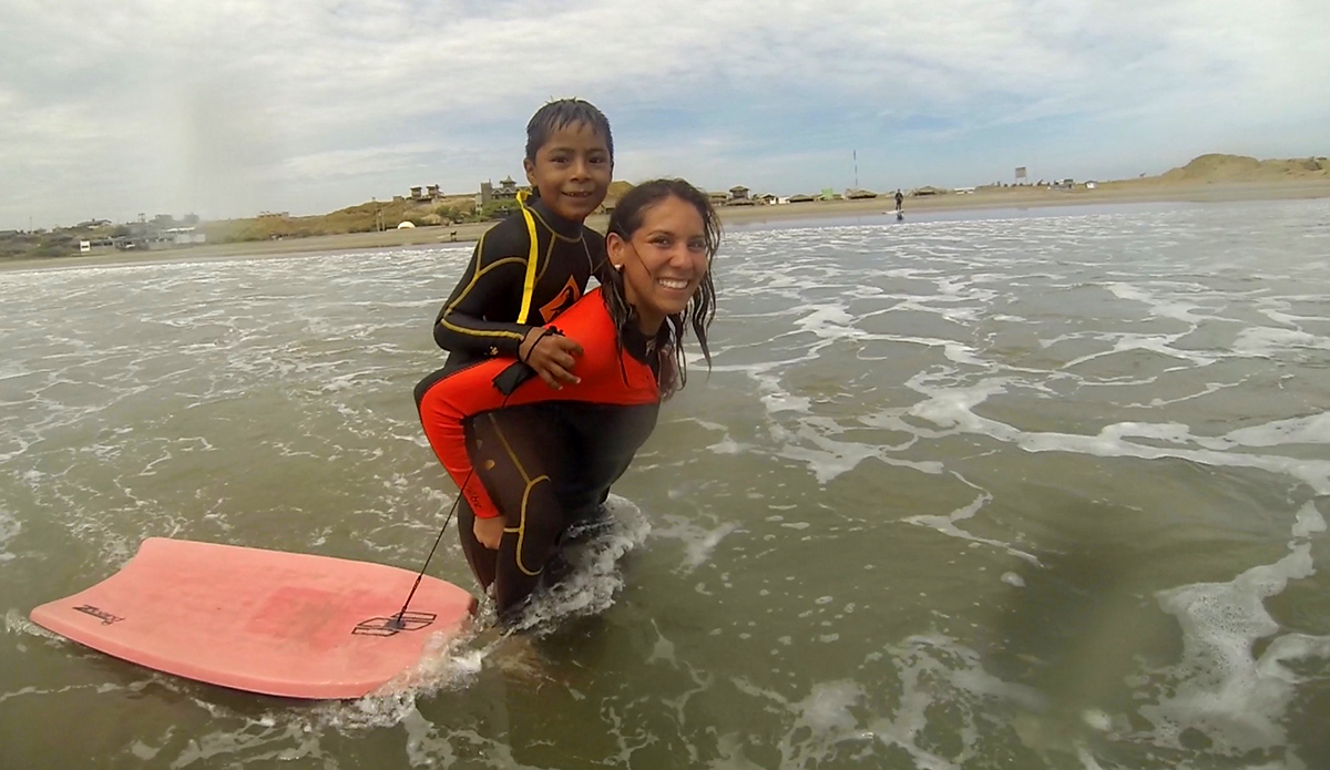 WAVES uses surfing and swimming classes for kids to gain confidence in and out of the water. | Photo: Nick Roubal