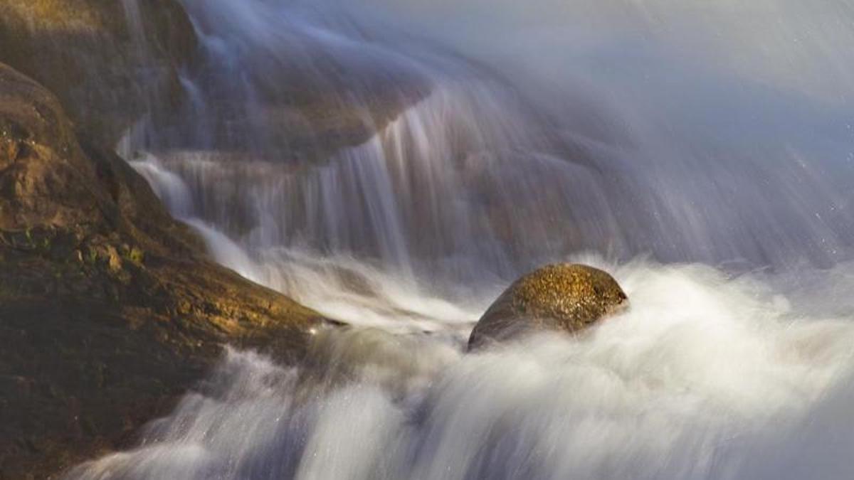 Alluvial Fan Waterfall. Photo: NPS