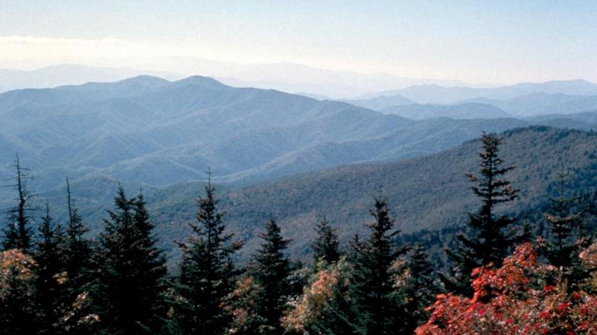 Autumn in the Great Smoky Mountains. Photo: NPS