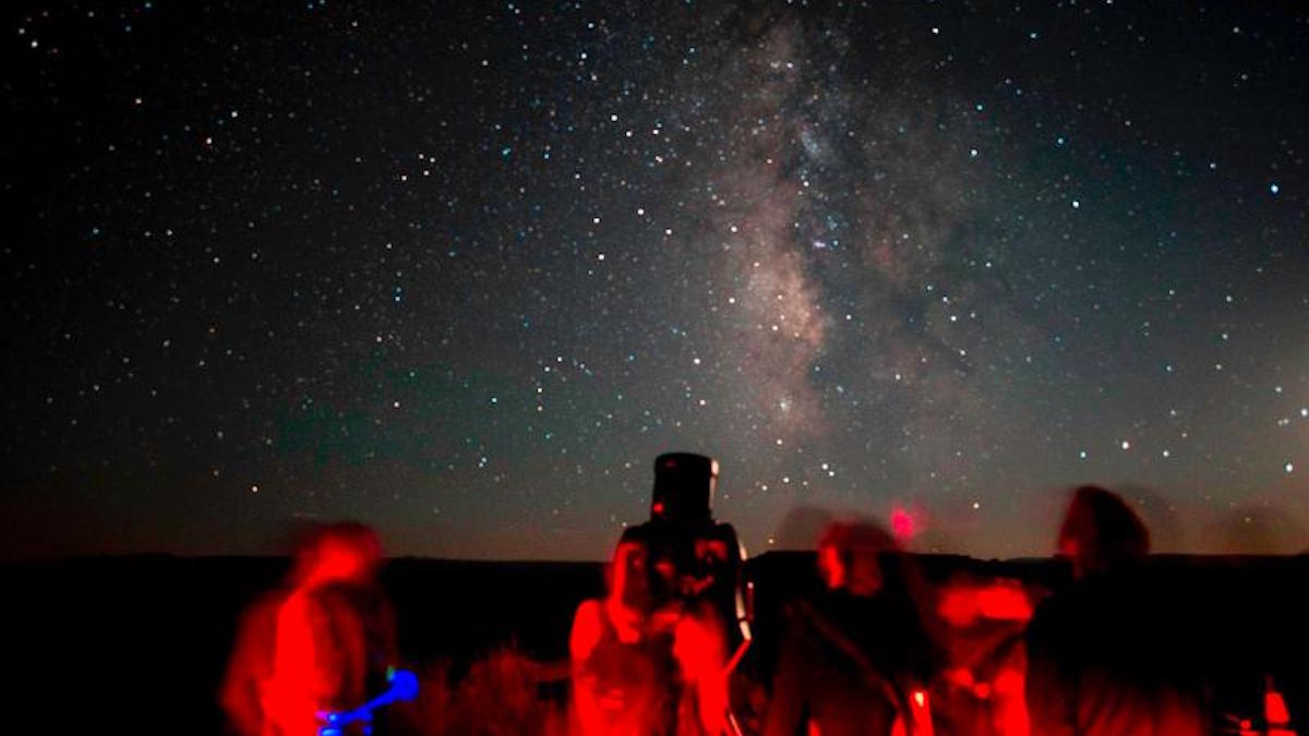 Canyonlands National Park star party. Photo: Chris Wonderly/NPS