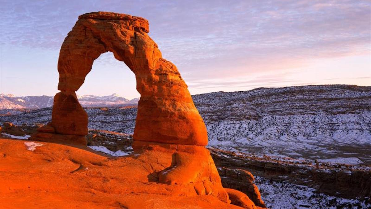 Delicate Arch in Arches National Park. Photo: NPS