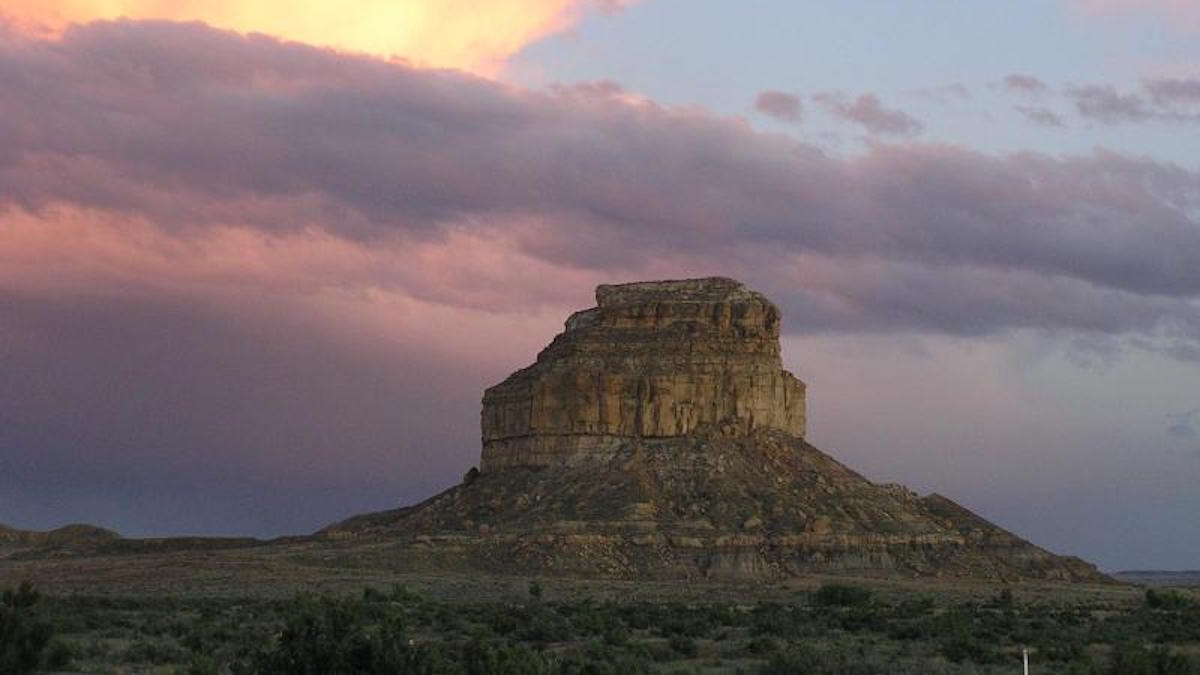 Fajada Butte sunset. Photo: NPS