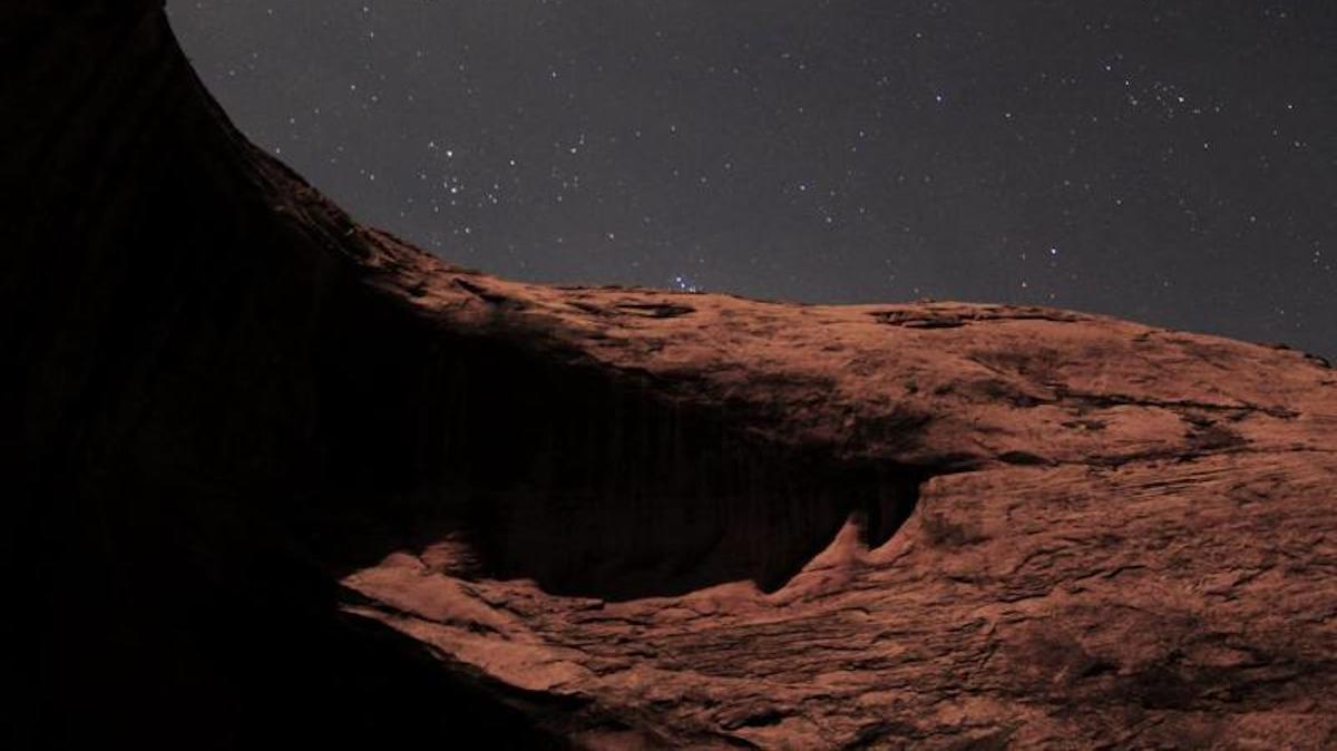 Glen Canyon at night. Photo: NPS